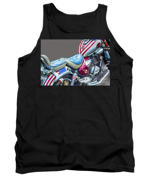 Tank Top featuring the photograph Harley by Charuhas Images