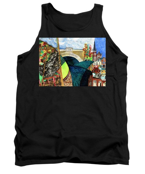 Harpers Ferry Rivers, Railroads, Revolvers Tank Top