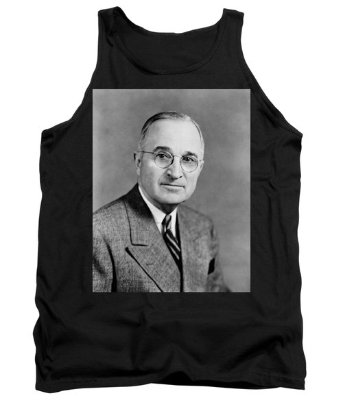 Harry Truman - 33rd President Of The United States Tank Top