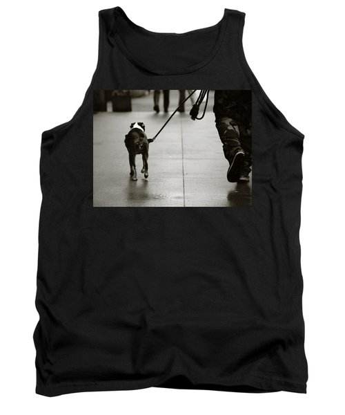 Tank Top featuring the photograph Hauling Ass by Empty Wall