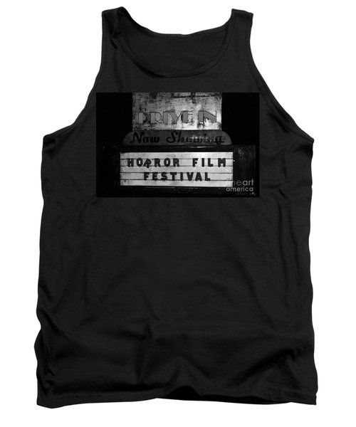 Haunted Drive In Tank Top