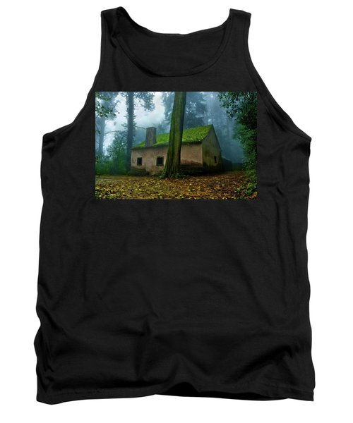 Haunted House Tank Top by Jorge Maia
