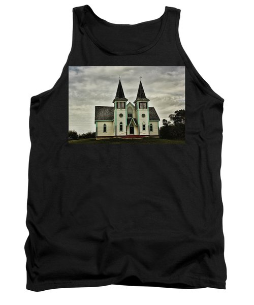 Haunted Kipling Church Tank Top