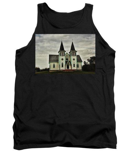 Haunted Kipling Church Tank Top