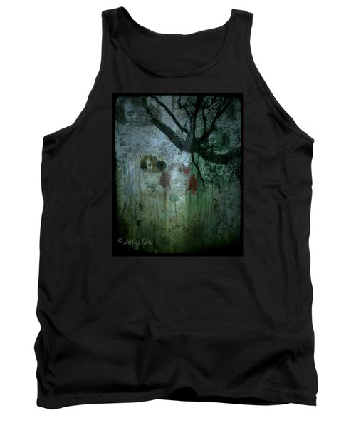 Tank Top featuring the digital art Haunting by Delight Worthyn