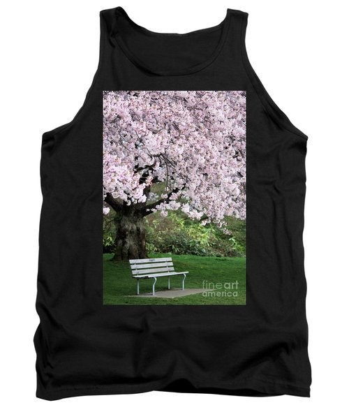 Tank Top featuring the photograph Have A Seat by Victor K