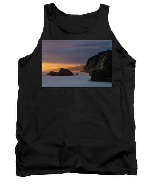 Hawaii Sunrise At The Pololu Valley Lookout Tank Top