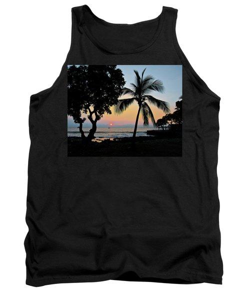 Hawaiian Big Island Sunset  Kailua Kona  Big Island  Hawaii Tank Top