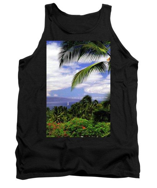 Hawaiian Fantasy Tank Top by Marie Hicks