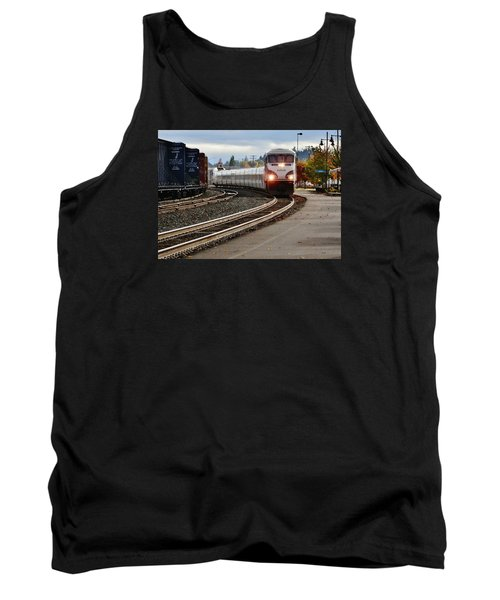 Heading For Portland Tank Top by VLee Watson