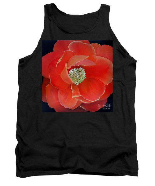 Heart-centered Rose Tank Top