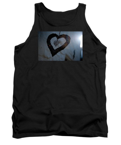 Heart With A Heart II Tank Top