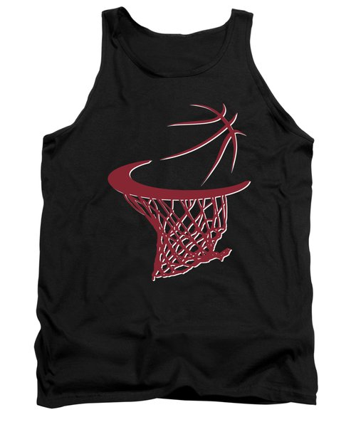 Heat Basketball Hoop Tank Top by Joe Hamilton