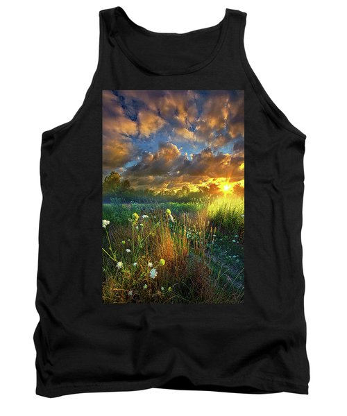 Heaven Knows Tank Top by Phil Koch