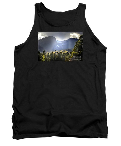 Tank Top featuring the photograph Heavenly Rockies  Rmnp by Nava Thompson
