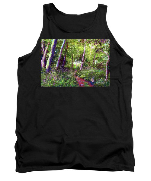 Heavenly Walk Among Birch And Aspen Tank Top