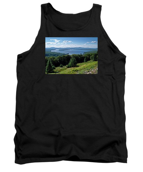 Height Of The Land Overlooking Mooselookmeguntic Lake Tank Top by Joy Nichols