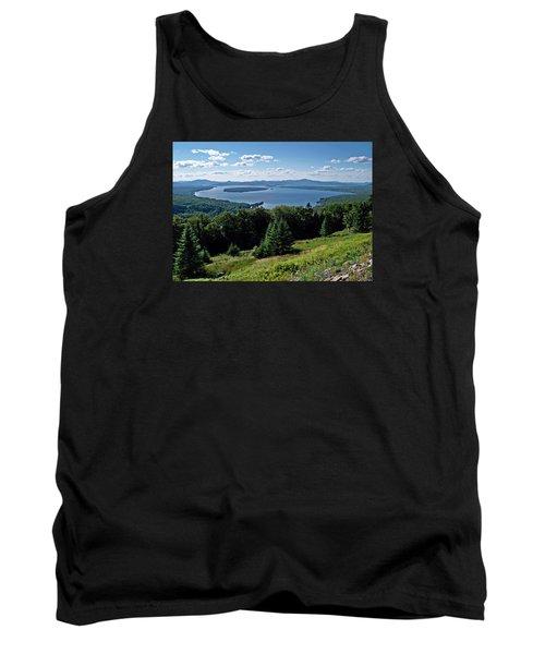 Height Of The Land Overlooking Mooselookmeguntic Lake Tank Top