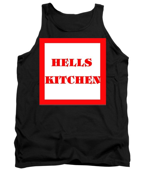 Hells Kitchen Red Tank Top