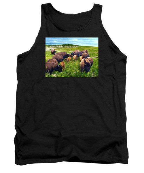 Herd Hierarchy Tank Top by Ric Darrell