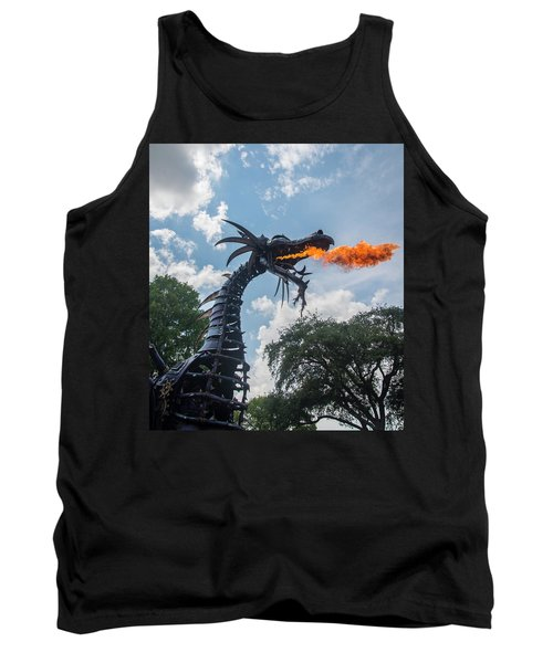 Here There Be Dragons Tank Top
