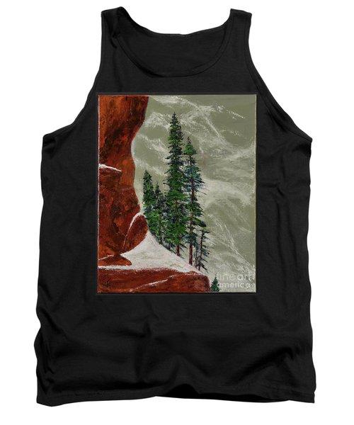 Hi Mountain Pine Trees Tank Top