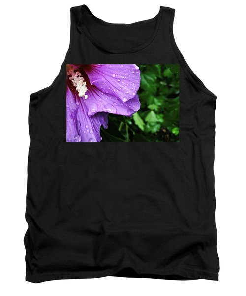 Tank Top featuring the photograph Hibiscus Corner by Robert Knight