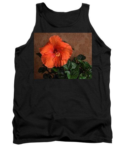 Hibiscus Fine Art Tank Top