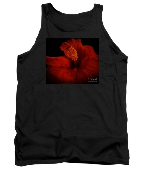Hibiscus Tank Top by Tammy Herrin