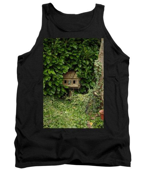 Hidden Birdhouse Tank Top