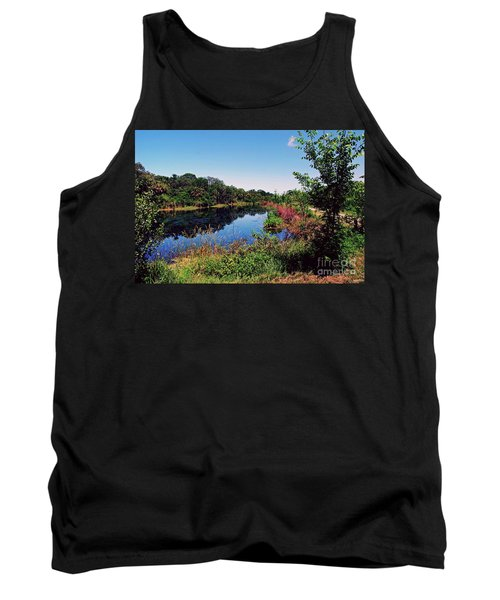 Tank Top featuring the photograph Hidden Lake by Gary Wonning