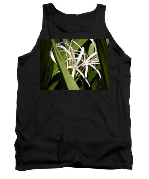 Tank Top featuring the photograph Hidden Swamp Lily by Rosalie Scanlon