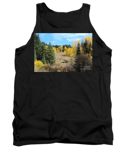 High Country Autumn Colors In Colorado Tank Top