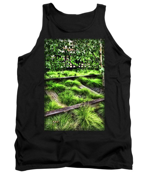 High Line Nyc Railroad Tracks Tank Top