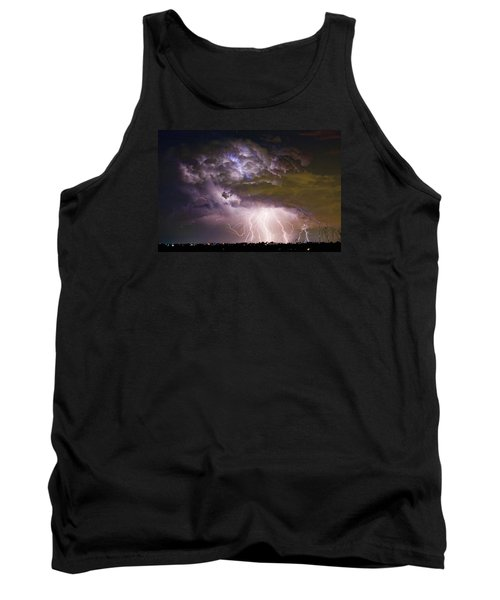 Highway 52 Storm Cell - Two And Half Minutes Lightning Strikes Tank Top by James BO  Insogna