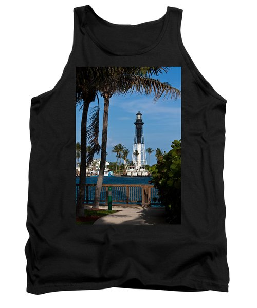 Hillsboro Inlet Lighthouse And Park Tank Top