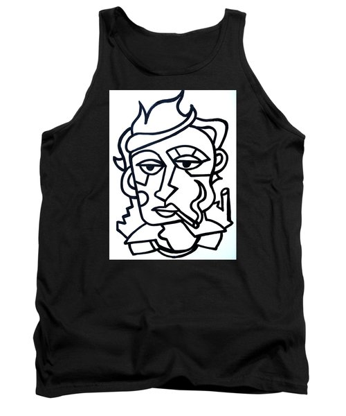Hipster Painting  Limited Edition Print Tank Top
