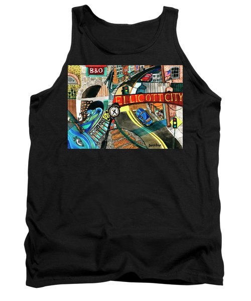 Historic Ellicott City Steam And Stone Tank Top