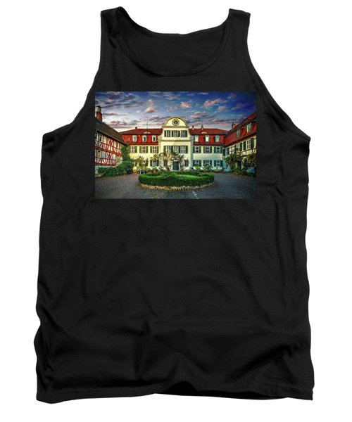 Historic Jestadt Castle Tank Top by Anthony Dezenzio