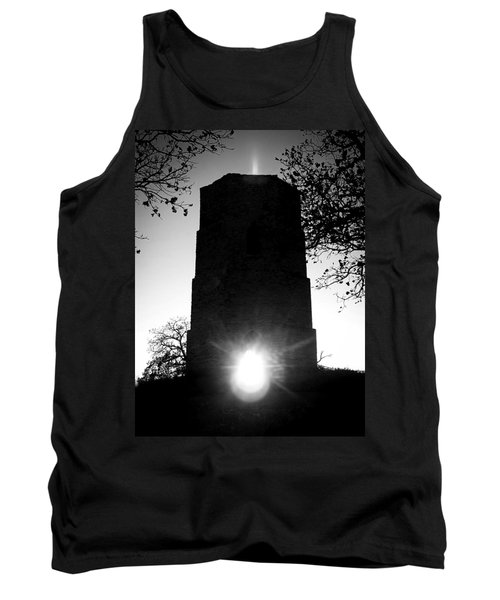 Historical Water Tower At Sunset Tank Top