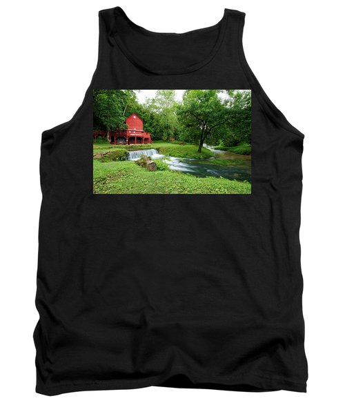 Hodgson Water Mill And Spring Tank Top by Cricket Hackmann