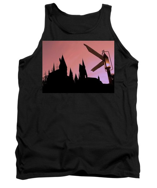 Tank Top featuring the photograph Hogwarts Castle by Juergen Weiss