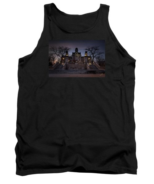 Hogwarts - Hall Of Languages Tank Top by Everet Regal