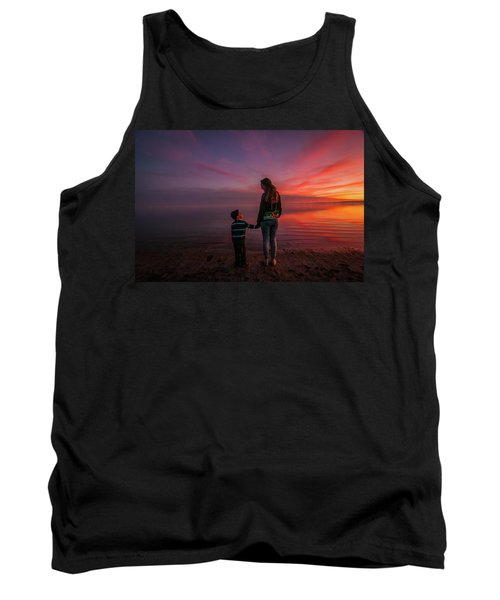 Hold My Hand Little Brother Tank Top by Ralph Vazquez