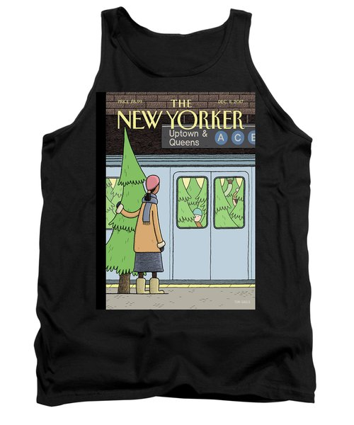 Holiday Track Tank Top