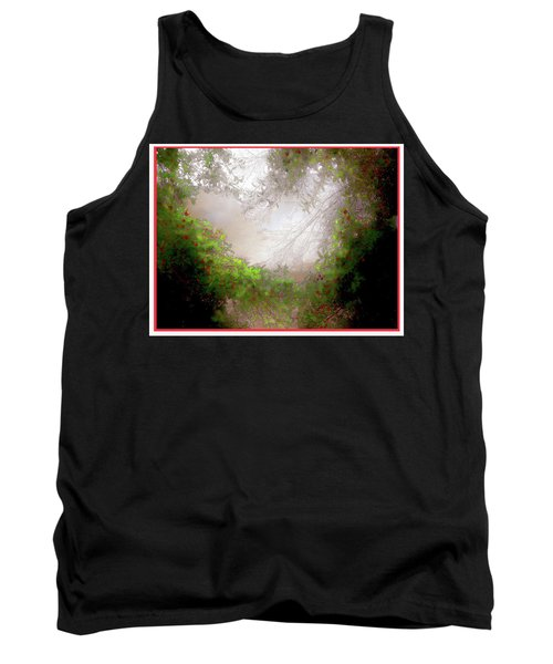 Tank Top featuring the photograph Holly Heart by Bonnie Willis
