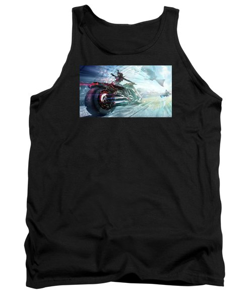 Tank Top featuring the photograph Holy Crap That Is Fast. by Lawrence Christopher
