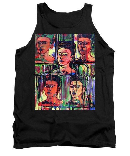 Homage To Frida Kahlo Tank Top