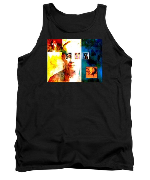 Homage To Richard Prince Tank Top by Ann Tracy