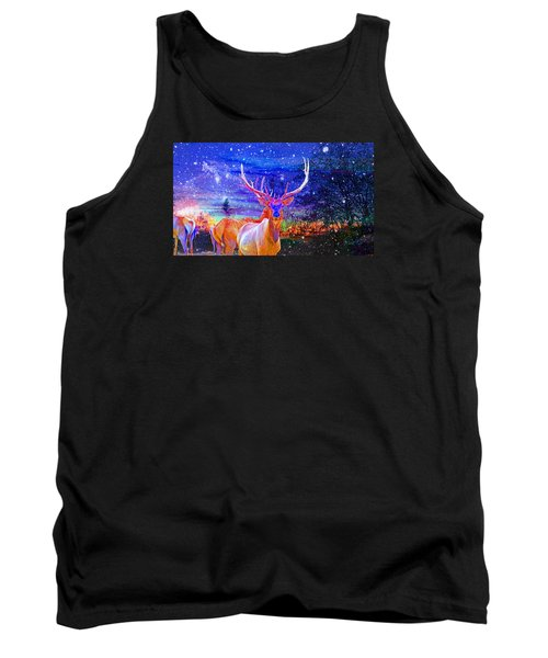 Home For The Holidays Tank Top by Mike Breau